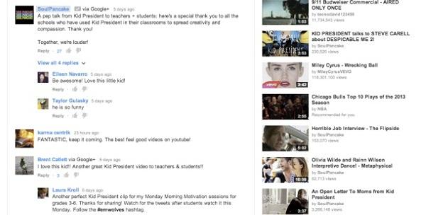 Hệ thống bình luận mới trên YouTube khiến người dùng giận dữ