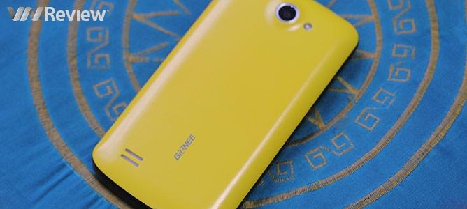 Đánh giá nhanh điện thoại Gionee Pioneer P3