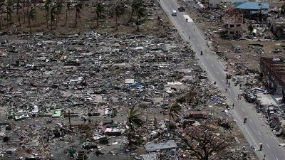 Ảnh động từ vệ tinh cho thấy sự thay đổi của Philippines sau bão Haiyan