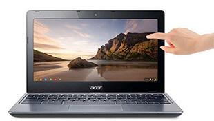Acer ra Chromebook màn hình cảm ứng