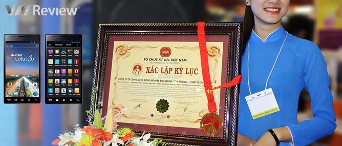 VNPT Vivas Lotus S1 có xứng với kỷ lục smartphone thương hiệu Việt đầu tiên?