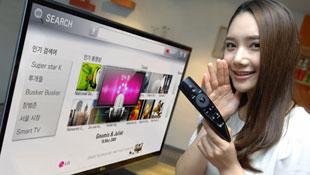 Điều khiển từ xa LG 2012 nhận dạng giọng nói