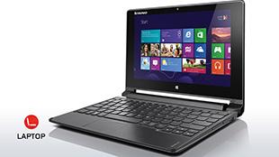 """Lenovo Flex 10: Tablet """"biến hình"""" dùng chip Baytrail-M"""