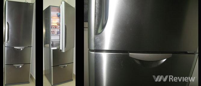 Đánh giá tủ lạnh Hitachi R-S37SVG