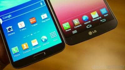 So sánh nhanh LG G Flex và Samsung Galaxy Round