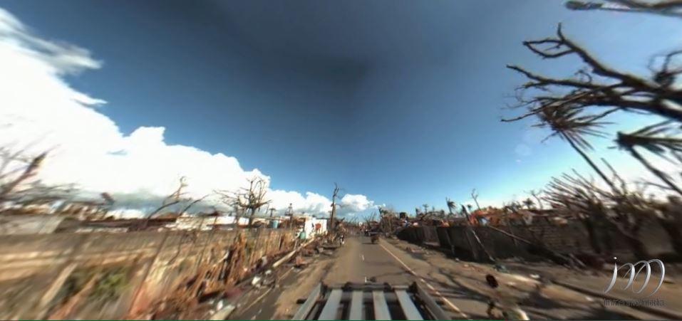 Nhìn lại Philippines hoang tàn sau siêu bão Haiyan qua video 360 độ