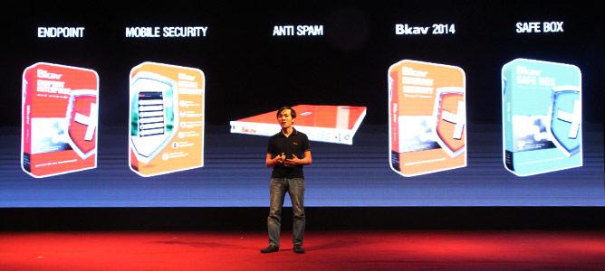 Bkav ra mắt loạt sản phẩm an ninh mạng 2014