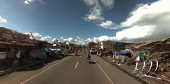Nhìn lại Philippines hoang tàn sau siêu bão Haiyan qua video 360 độ (Phần 2)