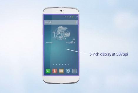 Concept Galaxy S5 ảo diệu: CPU tám lõi 64-bit, màn hình dẻo 2K