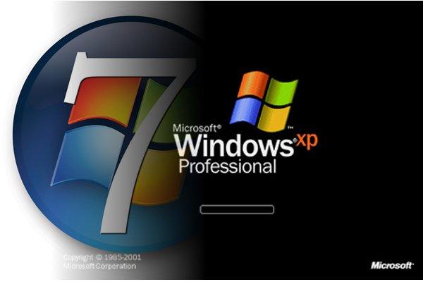 Cách chuyển đổi từ Windows XP sang Windows 7
