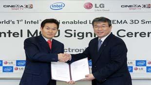 LG sẽ trình diễn TV có WiDi tại CES 2012