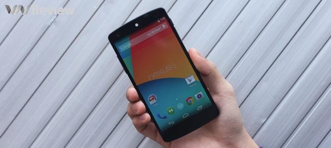 VnReview tặng bạn đọc điện thoại Google Nexus 5