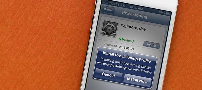 Hiểm hoạ từ Configuration Profile trên iPhone/iPad
