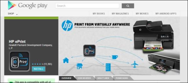 in không dây wi-fi Bluetooth Google cloud print airprint epson hp