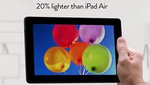 """Thi nhau """"dìm hàng"""" Apple: Đến lượt Amazon chê iPad Air"""