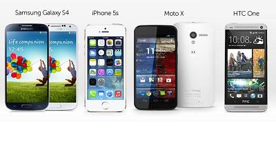 Những vấn đề bị phàn nàn của iPhone 5s, HTC One, Galaxy S4 và Moto X