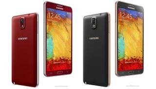 Galaxy Note 3 quốc tế có 3 phiên bản màu mới
