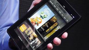Bản cập nhật lớn cho Kindle Fire giúp màn hình nhạy hơn