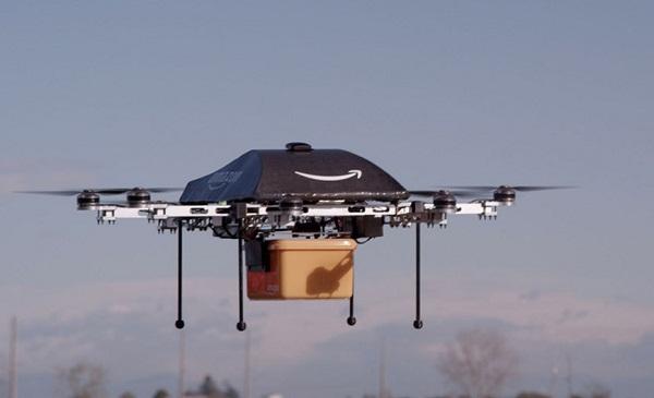 Amazon giao hàng nhờ robot máy bay như thế nào?