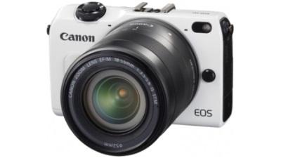 Canon giới thiệu máy ảnh không gương lật EOS M2