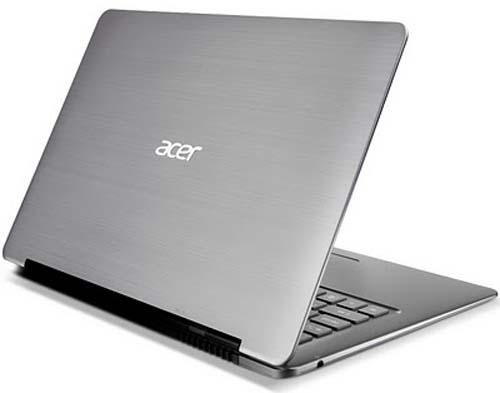 Sắp có Acer ultrabook 15-inch, vỏ bằng sợi thủy tinh