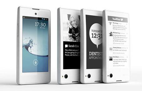 Smartphone hai màn hình YotaPhone chính thức ra mắt
