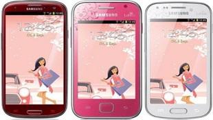 """Samsung sẽ """"tô màu"""" các smartphone với phiên bản La Fleur"""