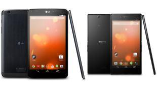 Ra mắt Sony Z Ultra và LG G Pad 8.3 phiên bản Google Play Edition