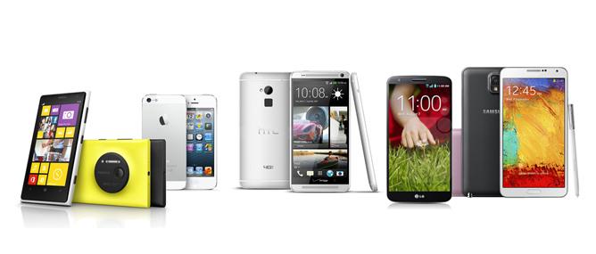 10 smartphone sáng tạo nhất năm 2013