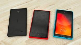 Ảnh dựng nhiều màu của Nokia Normandy chạy Android