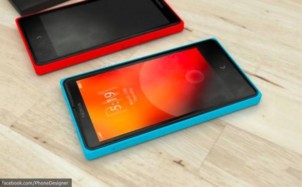 Nokia Normandy: Smartphone Android đa sắc màu