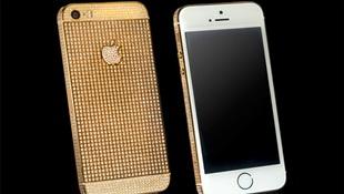 Goldgine giới thiệu iPhone 5s đính đá quý, giá từ 132 triệu đồng