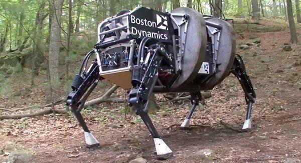 """Google mua lại công ty phát triển """"robot chó, mèo và người"""""""