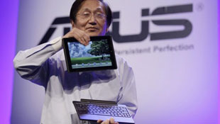 Asus kỳ vọng doanh số 3-6 triệu máy tính bảng năm 2012