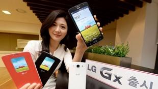 """LG ra GX: Bản nâng cấp """"nhẹ"""" của Optimus G Pro"""