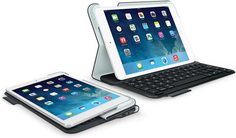 """Logitech ra phụ kiện """"độc"""" cho iPad Air và iPad Mini Retina"""