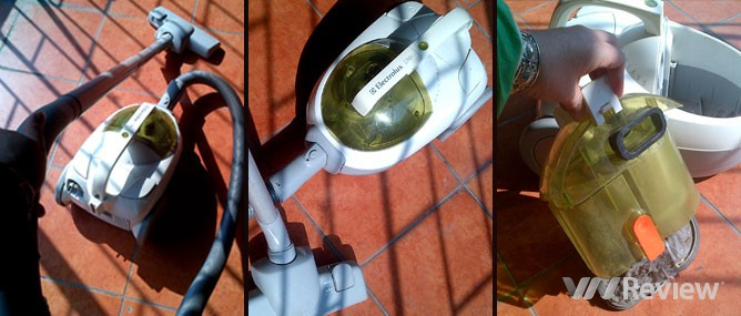 Đánh giá máy hút bụi Electrolux z1650 Lite