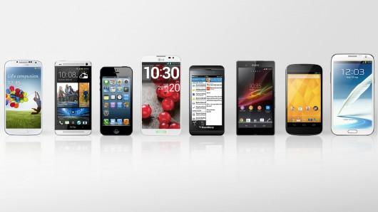 10 smartphone được tìm kiếm nhiều nhất 2013