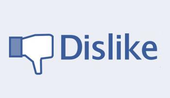 """Đã có nhãn """"Dislike"""" cho tin nhắn Facebook"""