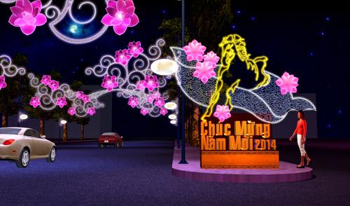 8 tuyến đường Sài Gòn sẽ rực sáng trước Giáng sinh