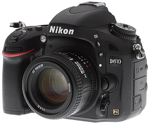 đánh giá máy ảnh d610 nikon d600