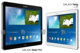 Rò rỉ tablet 12 inch Galaxy Note Pro: Vi xử lý lõi tứ, 3GB RAM