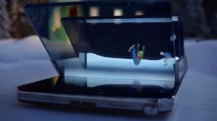 Noel sống động trong clip 3D quảng cáo Galaxy Note 3