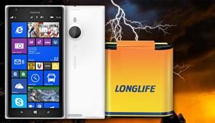 Pin Nokia Lumia 1520 trụ được tới 4 ngày rưỡi