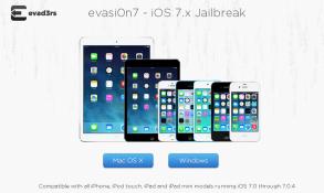 Đã chính thức jailbreak hoàn chỉnh iOS 7