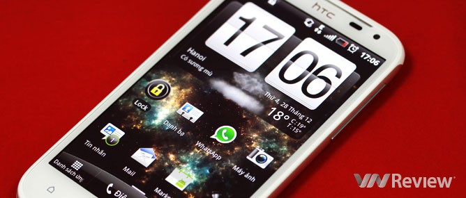 Đánh giá HTC Sensation XL