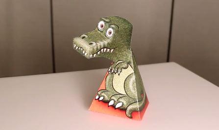 Trò đùa của thị giác hay ảo ảnh từ mẫu khủng long T-Rex?