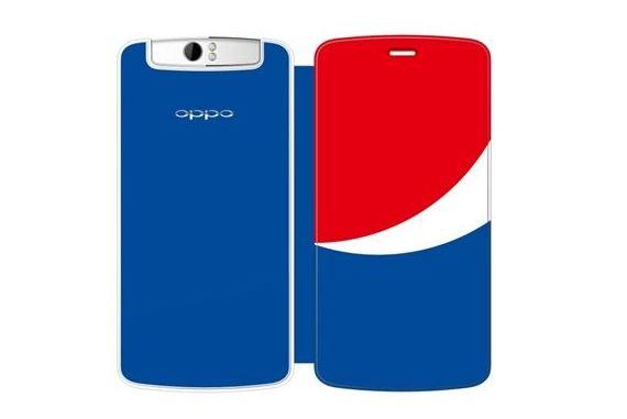 Oppo phát hành N1 phiên bản Pepsi, sẽ có mặt tại Việt Nam