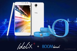 Alcatel ra mắt Idol X+ chip 8 lõi, kèm vòng đeo tay Bluetooth