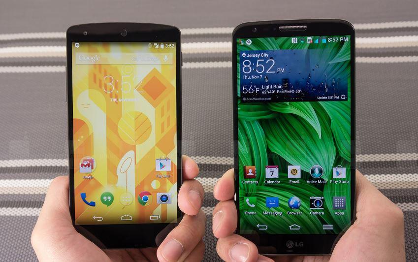 """Mức giá hấp dẫn của Nexus 5 khiến LG G2 """"ế hàng trầm trọng"""""""